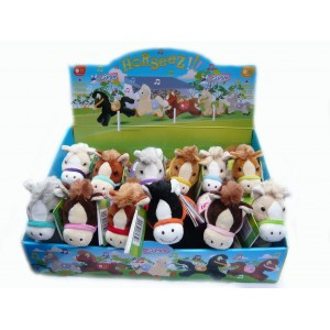 Soft Toy Race Horses